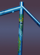 monster designs custom bicycle art